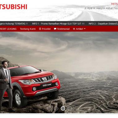 Website Dealers Mitsubishi Cipondoh