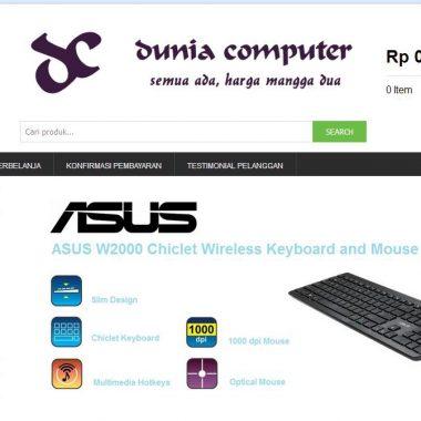Website Dunia Computer
