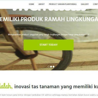 Website PT Visio Eco Planting
